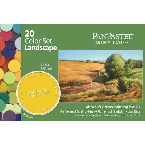 PANPASTEL® Ultra Soft Professional Pastel, 20-delige sets