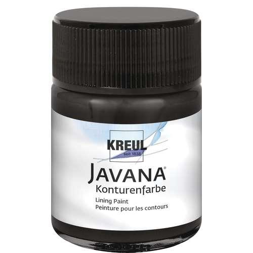 Javana Gutta contourverf voor zijde
