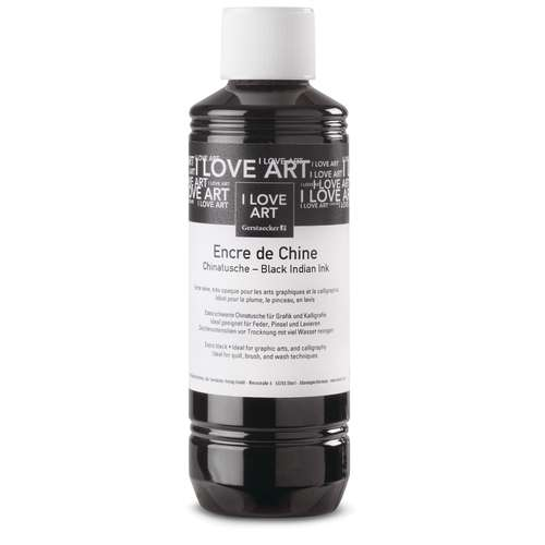 I LOVE ART | Chinese Inkt