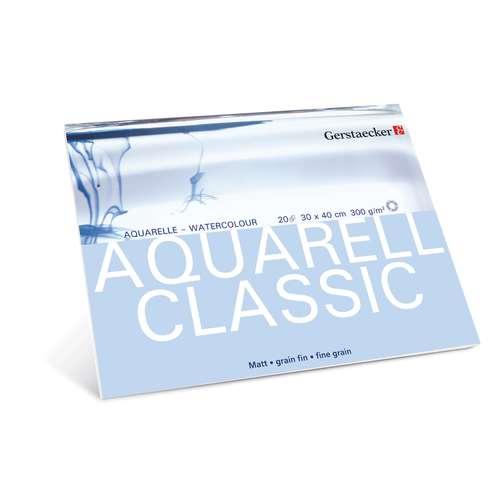 GERSTAECKER   CLASSIC aquarelpapier — blok
