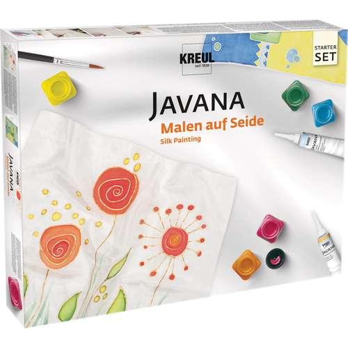 Javana zijdeverfdoos basisset