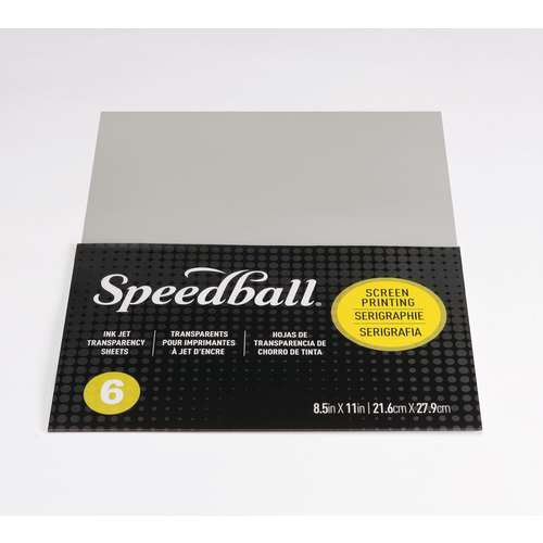 Speedball®   Screen Printing Ink Jet Transparency Sheets