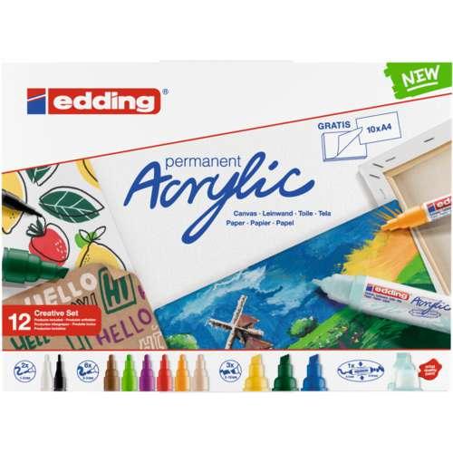 edding®   Acrylic marker  — sets